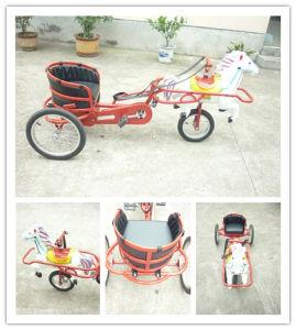 Kids Children Toy Sulky Cart Bike