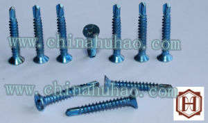 Screw/DIN Self Drilling Screw Csk Head Sheet Metal Screw Roof Screw pictures & photos