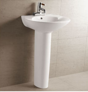 Washbasin with Pedestal (D0-B228)
