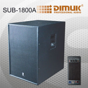 Active 600W 18 Inch Sub Woofer Speaker Sub-1800A