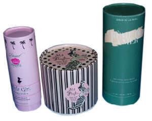 Print Paper Decorative Tube Box (YY-B0147) pictures & photos