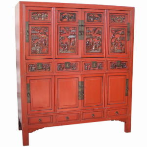 Carved Cabinet (BGZA-097)