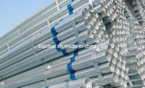 Hot Dipped Galvanized Steel Pipe/Tube Made in Tianjin China pictures & photos