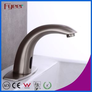 Fyeer Satin Finishing Automatic Water Mixer Sensor Tap pictures & photos