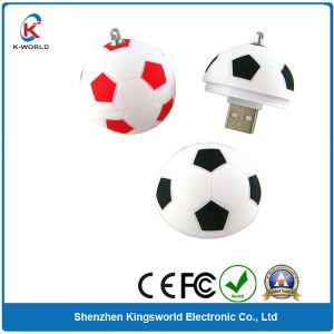 Plastic Football USB Flash Drive ,Pen Drive (KW-0230)