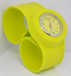 Slap Silicone Watch for Promotion Gift pictures & photos