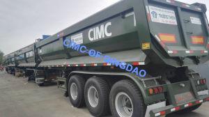 Cimc 60 Ton 3 Axle Rear Dump Semi Trailer Truck Chassis pictures & photos
