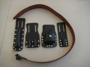 Scaffolders Tool Belt & Holder/Leather Belt