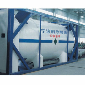 Vacuum Powder Insulation Cryogenic Liquid Tank Container