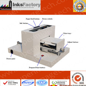 A4 Flatbed Printer for T-Shirt/iPhone Cover/Metal/Ceramic/Glass/Signs pictures & photos
