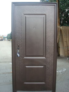 Single-Leaf Steel Door (YF-C03) pictures & photos