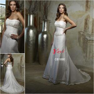 Bridal Wedding Dress, Wedding Gown (CB1890)