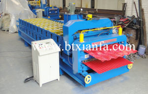 Double Deck Color Steel Roll Forming Machine (XF1035-1130)