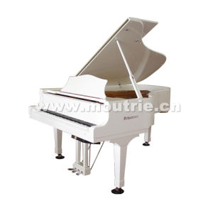 Musical Instruments White Grand Piano (GP-212) Schumann Self-Playing Piano pictures & photos