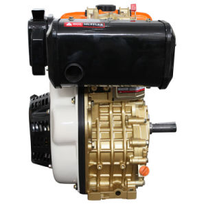12HP Diesel Engine with CE Golden Right Side pictures & photos