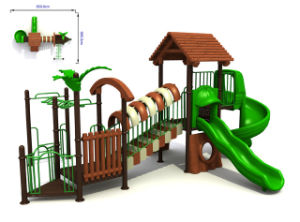 Public / Commercial Outdoor Playground (10-1302)