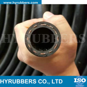 Wrapped/Smooth Surface Fabric Reinforced Rubber Fuel Hose, Rubber Oil Hose pictures & photos
