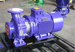 Horizontal Close Coupling Pump with SGS Certificate pictures & photos