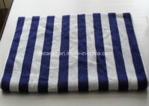 Blue & White Stripes Cotton Face Towel (DCS-9102) pictures & photos