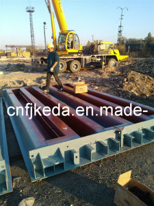 Keda Scales Truck Scale (Exported to Kyrghyzstan) pictures & photos