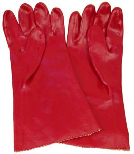 Red Working Labor Glove with CE Approval (SQ-017) pictures & photos