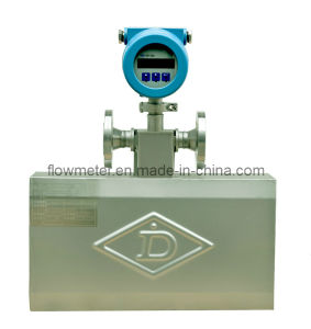 Dn25 Mass Flow Meter for Measuring Liquids (Water, Fuel, Rude Oil, Gasoline, Diesel, Solvent, Slurry)