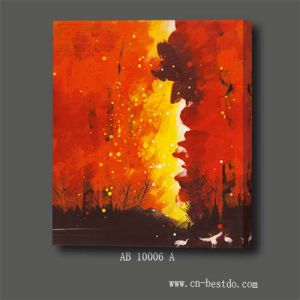 Canvas Oil Painting Abstract Series (AB 10006 A)