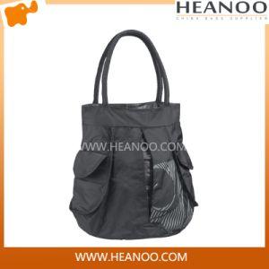 Korean Designer Cheap Polyester Tote Bag Handbag Shoulder Bag pictures & photos