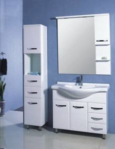 Hot MDF Bathroom Vanity Cabinet (TM8012) pictures & photos