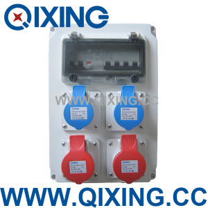 Qixing Plastic Combination Socket Box (QCSM-03) pictures & photos