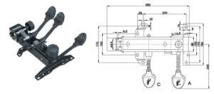 Heavy-Duty Chair Mechanism Jb-454