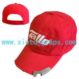 Promotional Baseball Cap With Bottle Opener (JRP018) pictures & photos