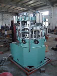 Zp25 Chicken Cube Rotary Tablet Press Machine pictures & photos