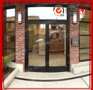 Aluminum Storefront Doors (DARK BRONZE ANODIZED FINISH) pictures & photos