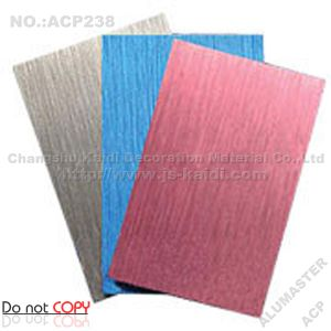 Brushed ACP Aluminium Composite Panel (ACP238)