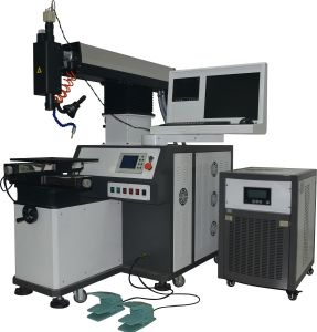 Four-Axis with Three Linkages Laser Welder