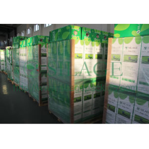 Green Color Silage Wrap Film, 250mm*25mic*1800m, 3 Layers Co-Extruded Film, Blowing Molding LLDPE Film pictures & photos