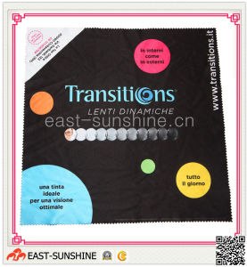 Digital Printing Microfiber Cloth for Glasses/Eyewear/Screen Cleaning pictures & photos