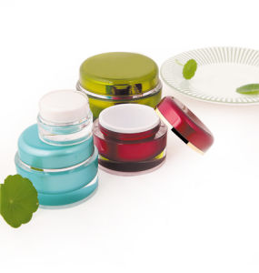 Hot Selling Cosmetic 15g Plastic Jars pictures & photos