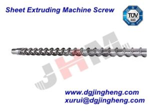 Sheet Extruding Machine Screw