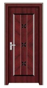 Bullet Proof Steel Wooden Door (EWS014)