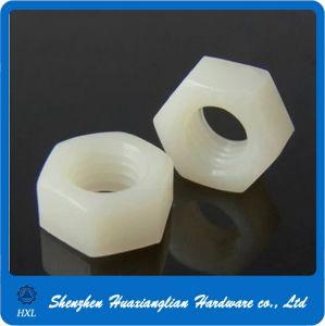 DIN934 DIN 934 Plastic Hexagonal Nut Nylon Hex Nut pictures & photos