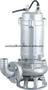 Electrical 304ss Sewage Water Pump (WQ50-15-4) pictures & photos