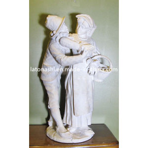 White Marble Stone Statue Carving for Manor, Garden pictures & photos