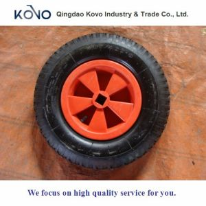 400-8-2pr Pneumatic Wheel with Plastic Rim pictures & photos