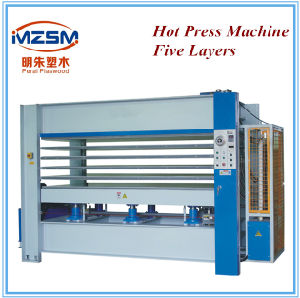 Mz100t Model Furniture Hydraulic Cold Press Machine Wood Machine pictures & photos
