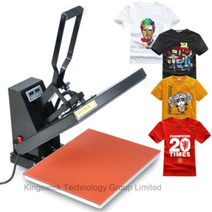 Best Quality Manual T Shirt Heat Press Machine pictures & photos