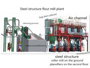 20 T/D Wheat Flour Milling Machine with Plansifter Techniques