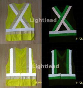 Photoluminescent vest