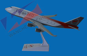 Plastic Plane Model (B747) pictures & photos